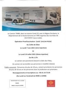 Camion vaccination